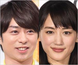 2019年紅白司会の櫻井翔と綾瀬はるか
