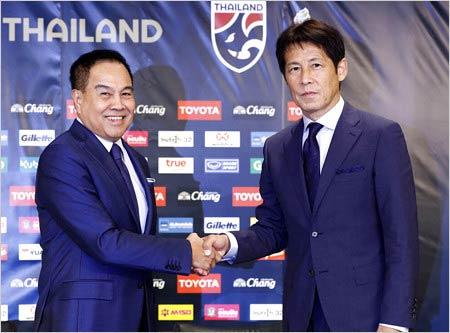 タイ代表監督に就任した西野朗監督