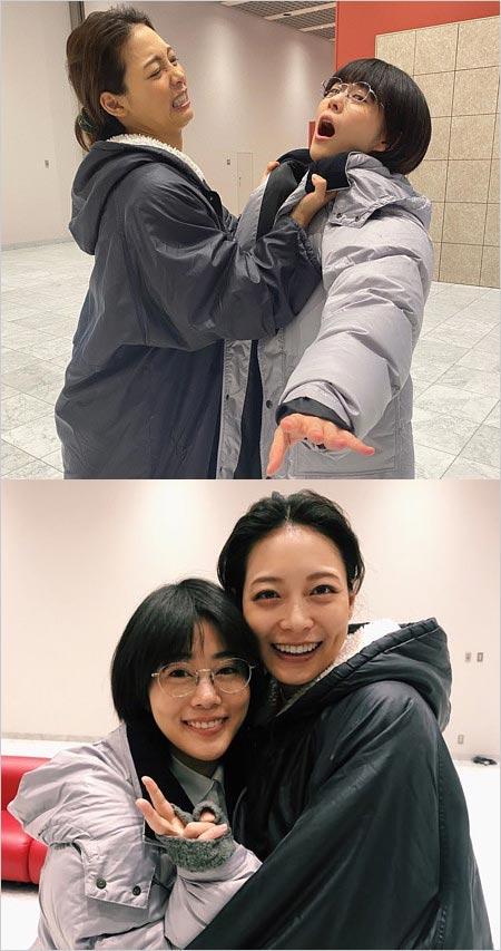 高畑充希と相武紗季ツーショット画像