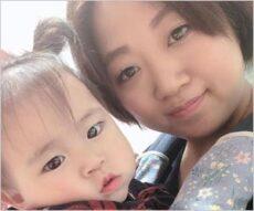 美奈子と第8子の小雪