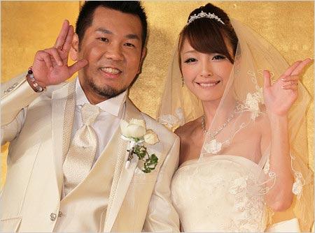 ユッキーナ・フジモン結婚式画像