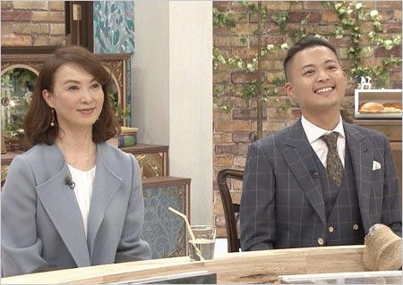 『NOと言わない!カレン食堂』共演の河野景子&息子・花田優一