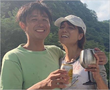 hitomiと現在の夫