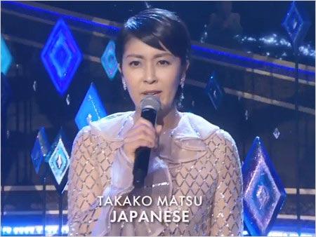 アカデミー賞で日本人初歌唱した松たか子