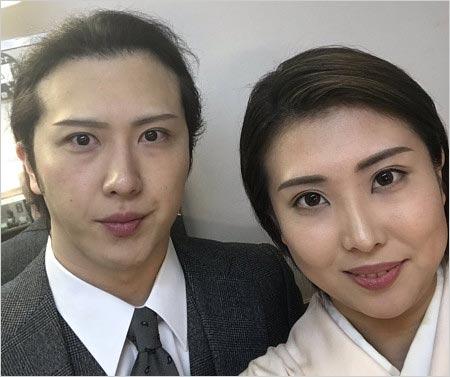 春本由香と兄・尾上松也