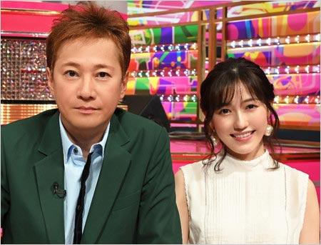 UTAGE出演の中居正広&渡辺麻友