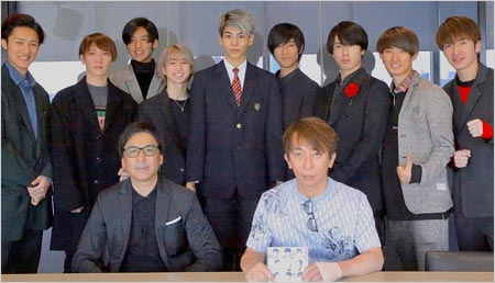 エイベックス松浦勝人会長がツイッターに投稿したSnow Manラウールがブレザーの制服姿の写真