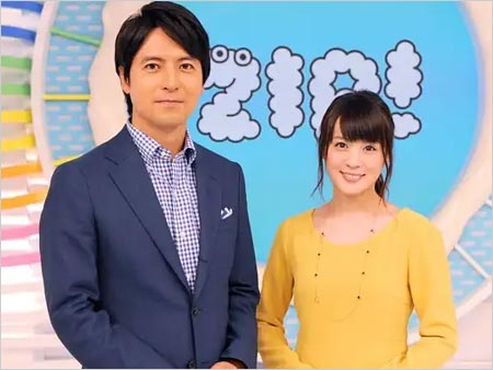 ZIP!司会の北乃きい&桝太一アナウンサー
