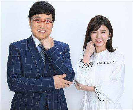 南キャン山里亮太&宇賀なつみアナ『土曜はナニする!?』MC(にじいろジーンの後番組)