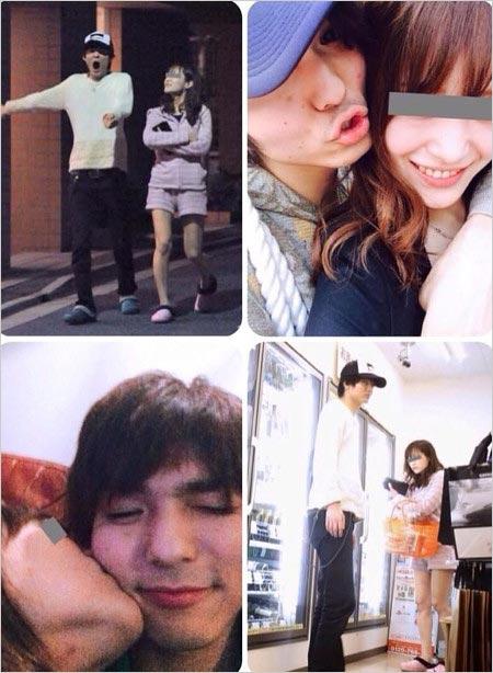 薮宏太と上戸彩似恋人のフライデーツーショット写真
