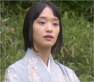 剛力彩芽がスペシャルドラマ『陰陽師』出演時の姿