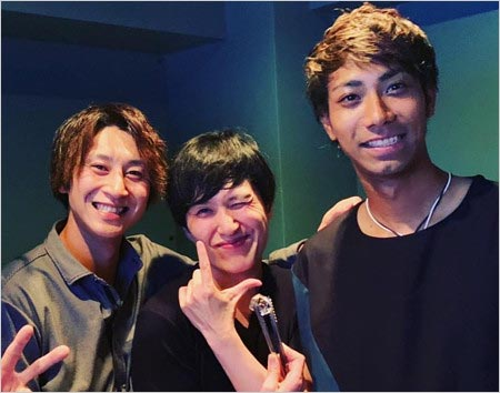 金子侑司・相内誠投手&清塚信也