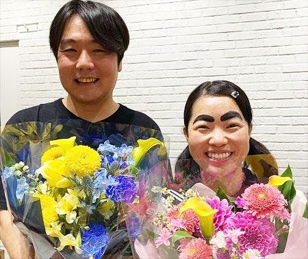 イモトアヤコと夫の石崎Dの2ショット写真