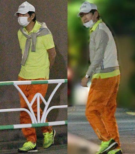 石田純一が新型コロナで退院直後に散歩