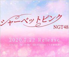 NGT48のニューシングル『シャーベットピンク』イメージ
