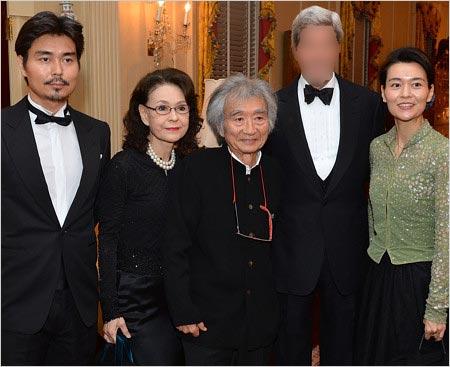 小澤征爾と息子・小澤征悦、妻・入江美樹&長女・小澤征良