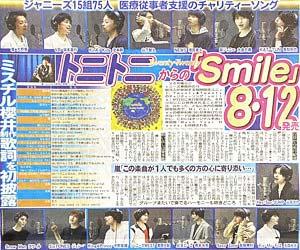 Twenty★Twenty『smile』発売日・歌詞発表