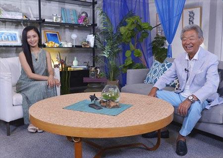 『朝からみのもんた』出演の小島瑠璃子&みのもんた