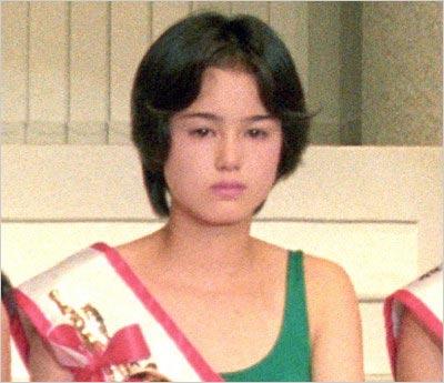 小田茜が全日本国民的美少女コンテスト・グランプリ当時の顔写真