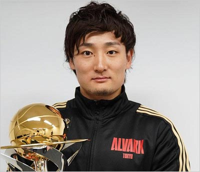 アルバルク東京・田中大貴選手(広瀬アリスの元彼氏)