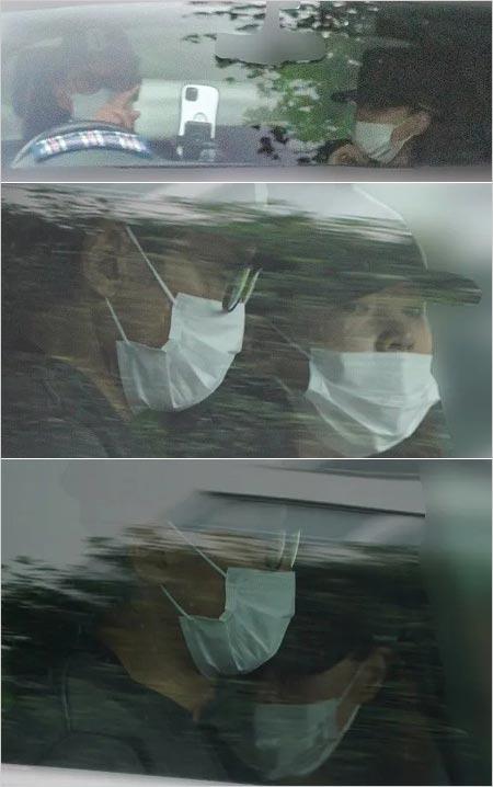 V6坂本昌行と恋人の元宝塚女優・朝海ひかるの車中デート写真