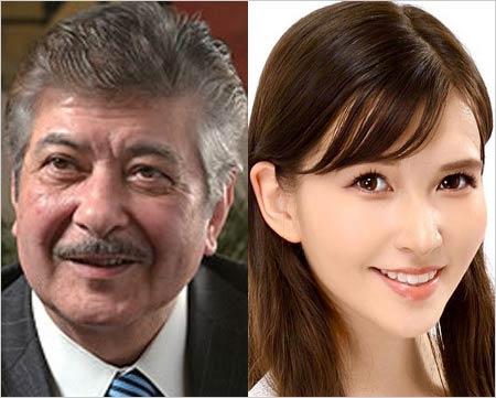 岡田真澄と長女・岡田朋峰