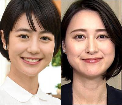 夏目三久アナウンサー&小川彩佳アナウンサー
