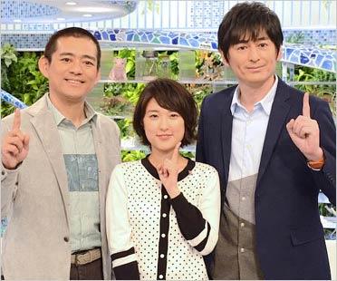 あさイチ司会の博多華丸・大吉&近江友里恵アナウンサー