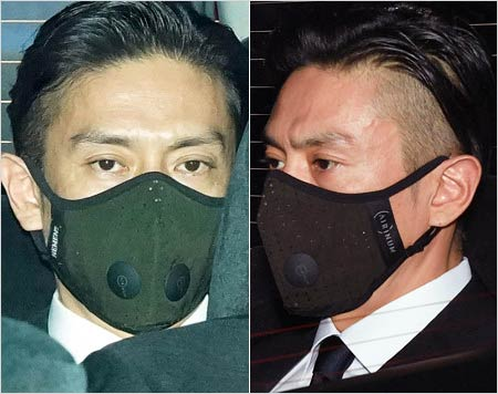 伊勢谷友介被告が初公判に出廷時のマスク着用の顔写真