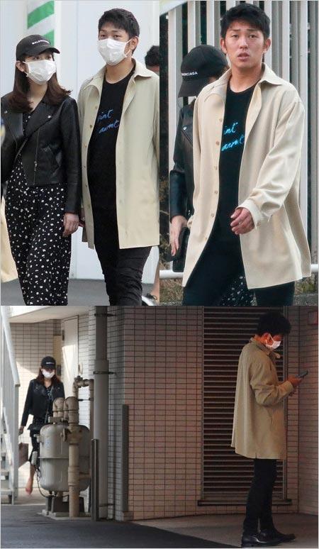 原樹理投手と久慈暁子アナの熱愛デート現場写真