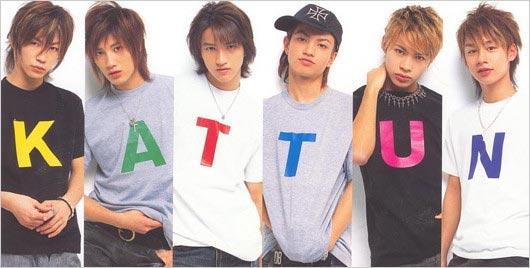 KAT-TUNデビュー当時のメンバー画像