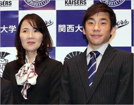 織田信成とモラハラ裁判の浜田美栄コーチの画像