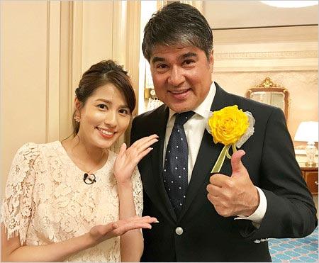 永島優美アナと父親・永島昭浩