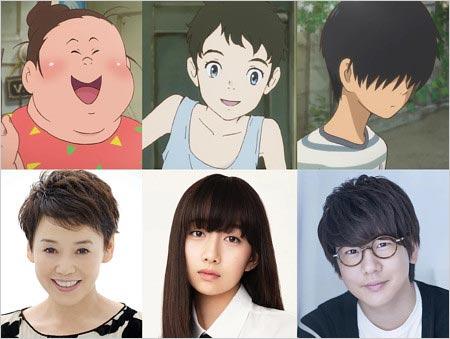 Cocomiが声優デビューのアニメ映画『漁港の肉子』キャスト