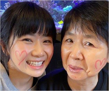 福原愛と母親・千代