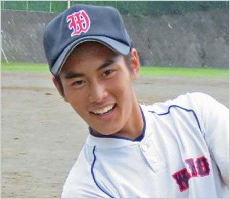 松崎しげるの息子・松谷優輝が和光高校時代の画像