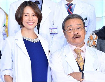 ドクターX米倉涼子と西田敏行