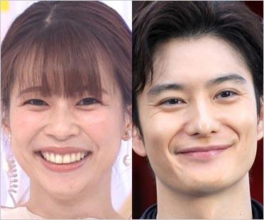 鈴木唯アナと岡田将生