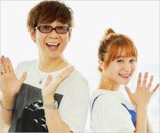 山寺宏一と妻・岡田ロビン翔子