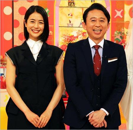 有吉弘行と妻の夏目三久『かりそめ天国・怒り新党』共演時の画像