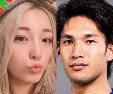 木下優樹菜と彼氏・三幸秀稔選手(湘南ベルマーレ)
