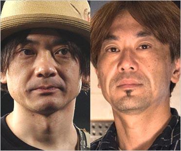 小山田圭吾とゴンドウトモヒコ(METAFIVEメンバー)
