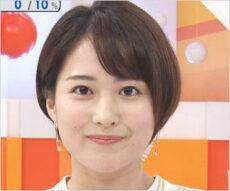 永尾亜子アナウンサー(めざましテレビ・エンタメキャスター)